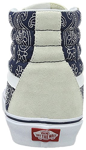 VANS - SK8-HI REISSUE Bandana stitch white dress blues