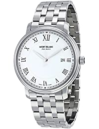 Tradition Automatic White Dial Stainless Steel Mens Watch 112610