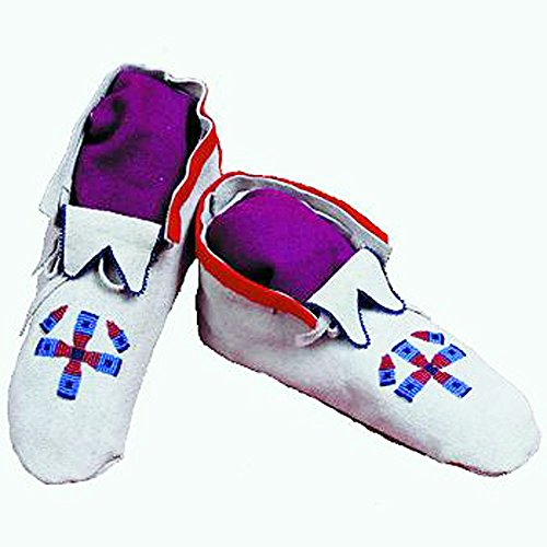 Northern Plains Soft Sole Moccasin Kit, Moccasin Cowhide,Up to Size 11 ()