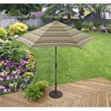 Better Homes and Gardens Sunrise Estates Umbrella, Beige Review