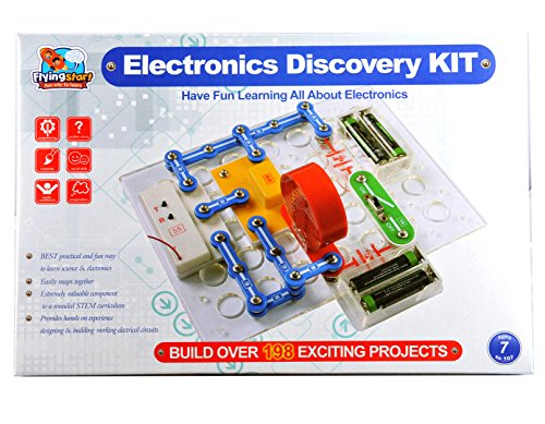 Buy flying start electronics discovery kit multi color 198 buy flying start electronics discovery kit multi color 198 experiments online at low prices in india amazon solutioingenieria Gallery