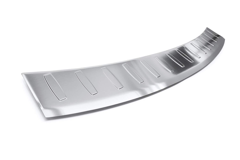 tuning-art 959R Protection de seuil de Coffre de Chargement en Acier Inoxydable avec Profil 3D et Bord Arrondi