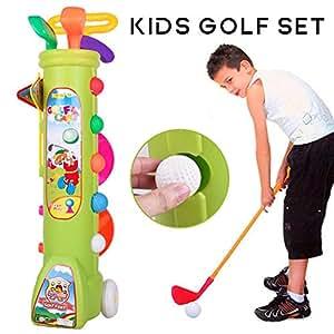 overlookTW Juego de golf para niños, juegos de golf de ...