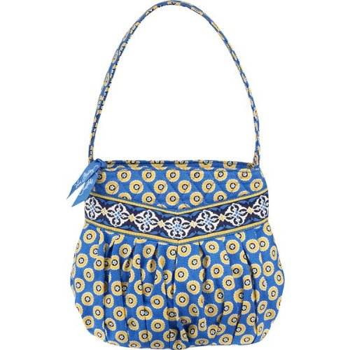 Amazon.com: Vera Bradley Hannah - Monedero en color azul: Shoes