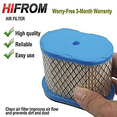 HIFROM (Pack of 3 Replace Air Filter & Pre Filter Cleaner Replacement for 498596 690610 697029 5059h 4207 30-033 John Deere M147431 + 273356s Filter Pre-Cleaner: Home & Kitchen