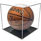 BallQube Grandstand Basketball Display with 98% UV Coating