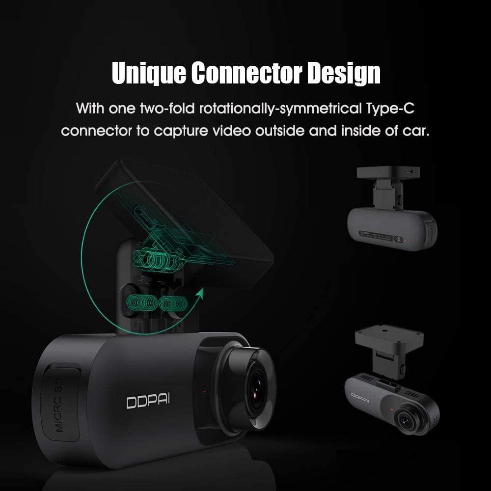 Ddpai N3 Gps Auto Dash Cam 1600p Hd Eingebauter Emmc Elektronik