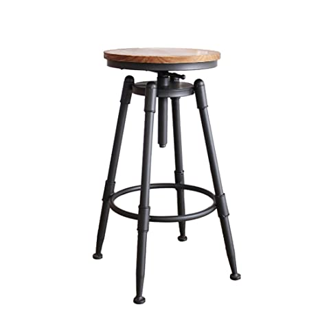 Pleasing Amazon Com Zhen Guo Industrial Black Counter Height Bar Forskolin Free Trial Chair Design Images Forskolin Free Trialorg