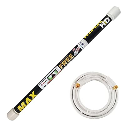 Magic Stick TV MAX HD - Antenna TV Digital HD for Indoor/Outdoor | VHF