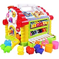 ARHA IINTERNATIONAL Colourful and Attractive Funny Cottage Educational and Learning Baby Kids Toys for 6 Month