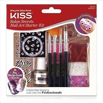 Amazon Kiss Salon Secrets Nail Art Starter Kit By Kiss Beauty