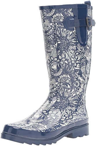 Sak Spirit Navy Rhythm Women's Desert The Rain Boot dqAdvf