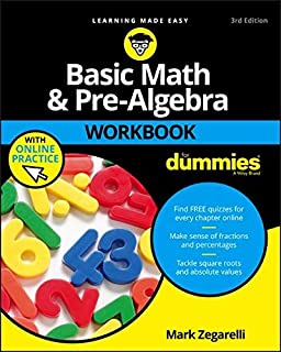 Mcdougal littell pre algebra practice workbook student edition basic math and pre algebra workbook for dummies for dummies lifestyle fandeluxe Choice Image