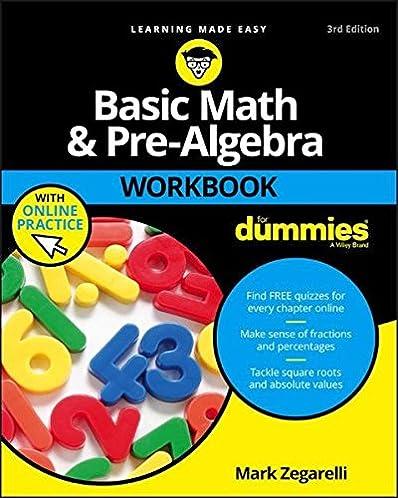 Prealgebra 3th third edition ebook array basic math and pre algebra workbook for dummies for dummies rh amazon com fandeluxe Choice Image