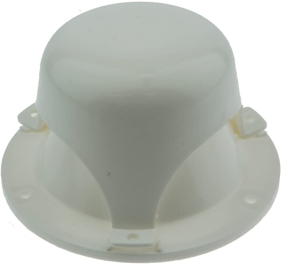 NUSET RV032-33 White Roof Vent Cap for RV