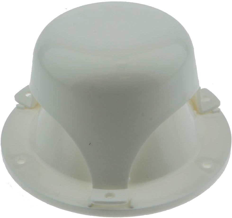 NUSET RV032-33 White Roof Vent Cap for RV