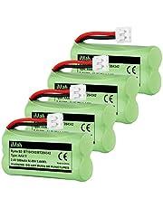 iMah BT184342 BT284342 Cordless Phone Battery Pack Compatible with AT&T VTech BT18433 BT28433 BT1011 BT1018 BT1022 BT1031 CS6209 CS6219 CS6229 DS6151 CL80109 Uniden DCX400 Handset Telephone, Pack of 4