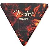 Fender 355 Shape Guitar Picks, Heavy, 12 Pack, Shell