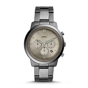 Fossil Reloj Cronógrafo para Hombre de Cuarzo con Correa en Acero ...