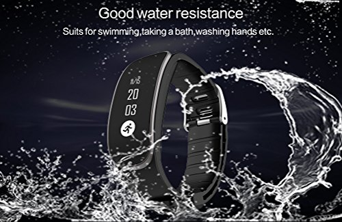 Chinatmax Bluetooth Smart Bracelet Sport Pedometer Fitness Watch Heart Rate Monitor Activity Tracker Sleep Monitoring Calories Tracker Message Reminder For iOS iPhone, Android Samsung Phones (Purple) by Chinatmax (Image #6)