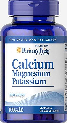 (Puritan's Pride Calcium Magnesium Potassium-100)