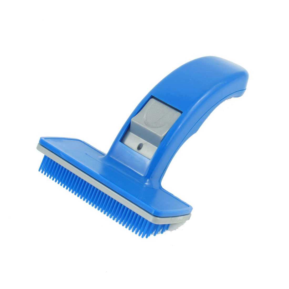 uxcell Plastic Pet Hair Shedding Grooming Brush Comb, Blue