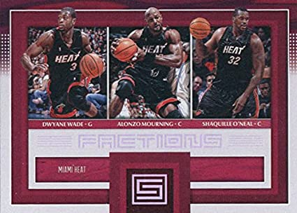 Amazon.com  2017-18 Panini Status Factions  26 Alonzo Mourning ... 54572efc4