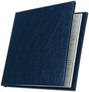 product image for Executive Deskbook Check Cover, Blue