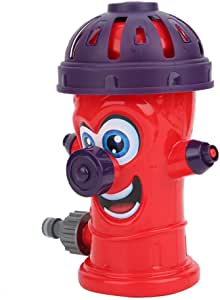 Backyard Water Play Spray Water Toy, Water Sprinkler Toy, for Kids Children(Water Spray Hydrant (red))