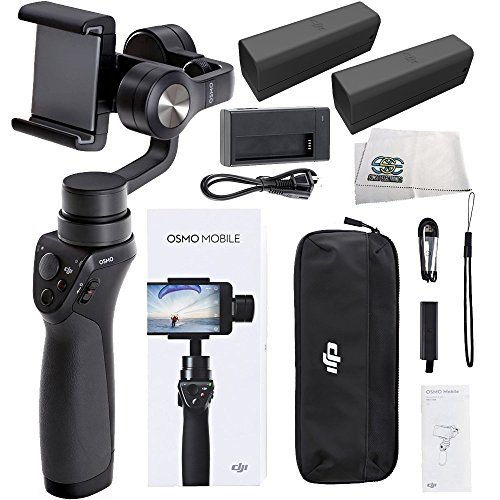 DJI OSMO M Mobile Handheld Stabilized Gimbal for Smartphones Essentials
