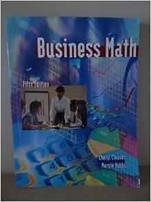 Business Math, 10th Edition