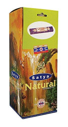 Natural - 25 Boxes - Satya Sai Baba Incense - Satya Natural Incense
