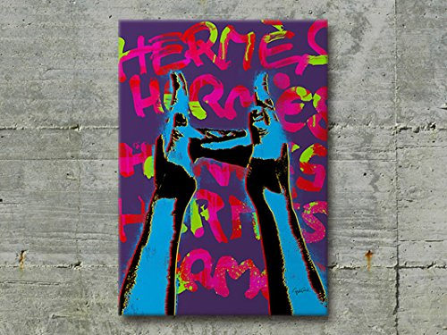 #047 Craig Garcia sign language HERMES slh ブランド モチーフ アート ポスター (A3, 02) [並行輸入品] B075W1N371 A3|02 2 A3