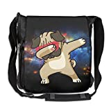 Dog Hip Hop Fashion Print Diagonal Single Shoulder Bag