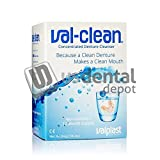 Valplast - ValClean Concentrated Denture Cleanser in envelopes 12 per box - ( only need 1/4 envelope every 7 - 10 days ) DentureSpa sold separatedly - # 20201 [ Sobre 308-VALCLEA Us Dental Depot