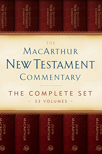 The MacArthur New Testament Commentary Set of 33 volumes (Macarthur New Testament Commentary Serie) Pdf