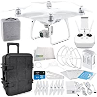 DJI Phantom 4 Advanced Quadcopter Travel Case Starters Bundle