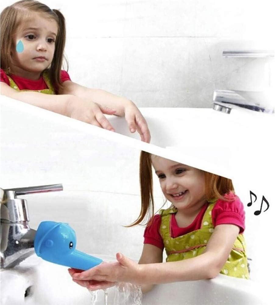 Fairylove Wasserhahn Verl/ängerung Extender Waschtischarmatur Anzapfung Extender Karikatur Tier Wasserhahnverl/ängerung f/ür Kinder Baby Hande Waschen Badezimmer K/üche