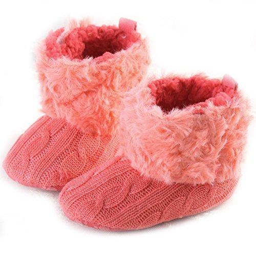 BabySchneeAufladungen weiche Unterseite Fleece Stiefel Schuhe S 06 ...
