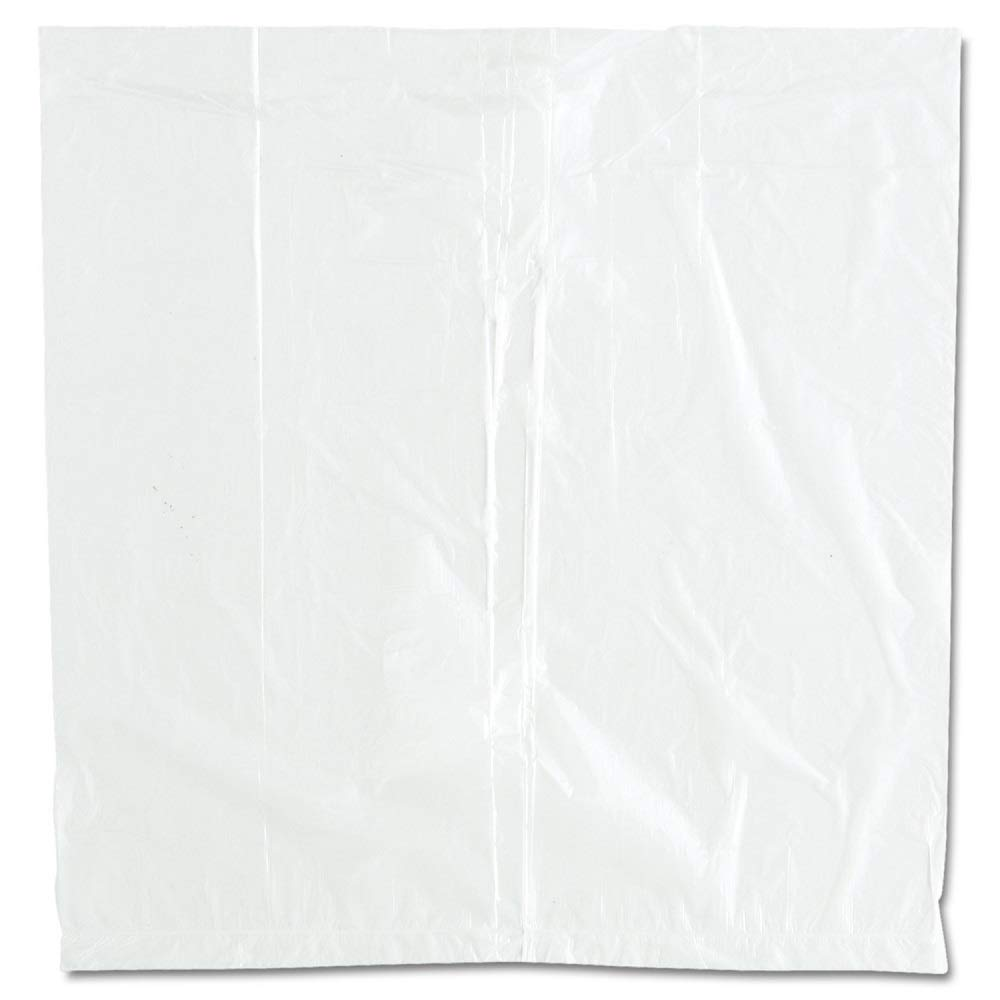 APQ Pack of 1000 High Density Ice Bucket Liners, Clear 12 x 12 Multifunctional ice bags 12x12 Transparent High Density Polyethylene Liners for industrial, food service, healthcare needs 0.48 Mil Thick by APQ Supply (Image #1)