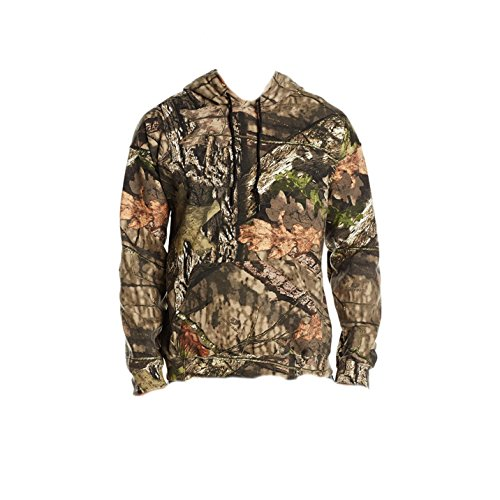 Mossy Oaks 3X Camo Jacket Hunting Cool Weather Sports Attire Pullover Hoodie (Camo Mossy Oak Pants)