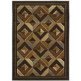 Cheap Oriental Weavers Genesis 2′ x 3′ Machine Woven Rug in Brown