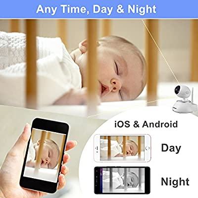 KAREye WiFi Video Doorbell, HD Baby Monitor Security IP Camera, All-in-one Smart Home Surveillance Alarm System, Window Sensor + Remote Control