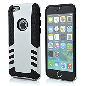 iPhone 6 Case, LERBO Special Rocket High Impact Hybrid Case Cover for iphone6 4.7inch(Silver)