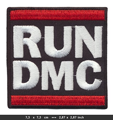 RUN DMC Iron Sew On Cotton Patches Music Hip Hop Rap New York Harlem black by Patchmaniac