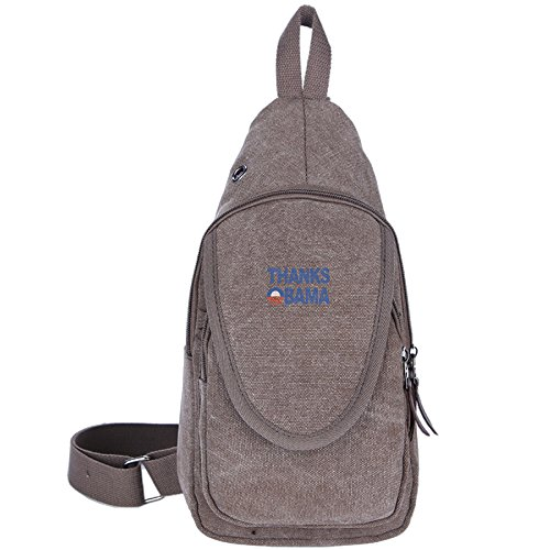Thanks Obama 2008-2016 Unisex Gym Backpack Crossbody Sling Shoulder Chest Bags (Campaigns And Elections 2014 compare prices)