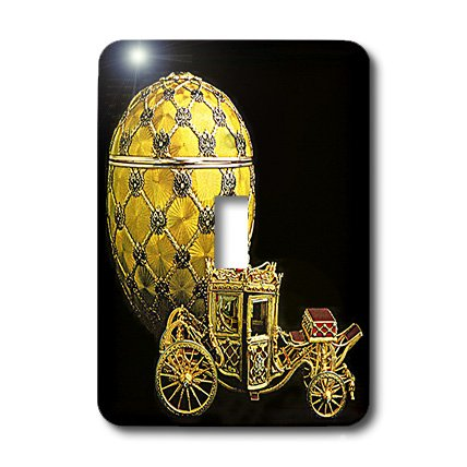 lsp_568_1 Faberge® Eggs - Picturing Faberge® Egg Coronation - Light Switch Covers - single toggle switch