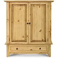 Full Wrap Around Door Rustic Armoire