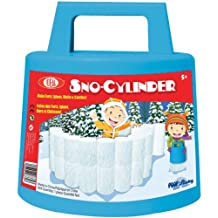 Ideal Sno-Cylinder for Building Winter Snow Walls, Igloos and Castles, Assorted Colors