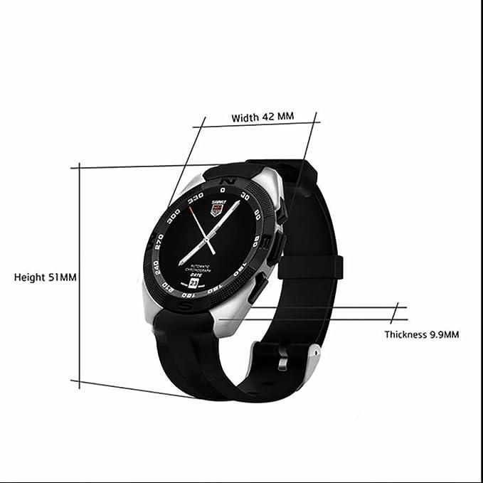 173fb8ed7511 Reloj Deportivo Intelligent fitness tracker con Alarma y Cronómetro Contador  de Calorias Monitor de Actividad Sueño Control Remoto de Cámara Monitor de  ...